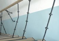 Stair column - hand rail